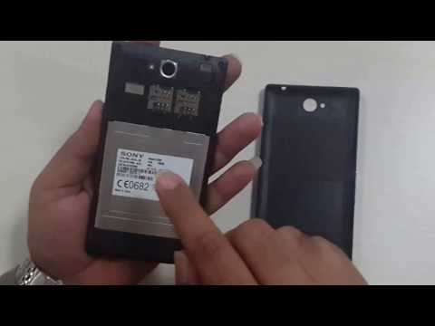How To Open Back Cover of Sony Xperia C Smart Phone