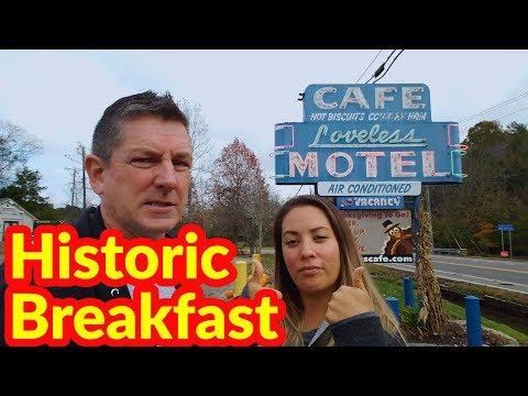 Motorhome RV Living | Loveless Cafe, Natchez Trace Parkway