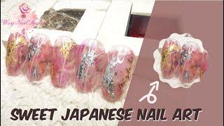 Wxy Nail Studio | Sweet Japanese Nail Art | 甜美日式美甲款式分享 | 日式美甲款式 | Easy Nail Art | 日式简易美甲 | Japanese