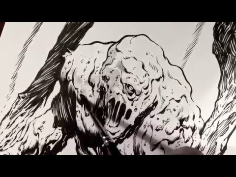 Tim Vigil: How to Ink Wash