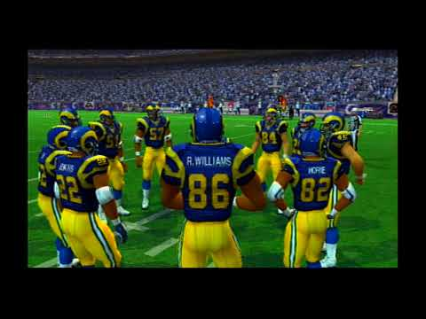 Madden NFL 07 Hall Of Fame Edition 07 99 Tennessee Titans vs 99 St Louis Rams