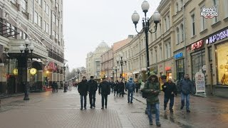 "Quick Walk by Old Arbat Street, Moscow. ""Real Russia"" ep.125 (4K)"