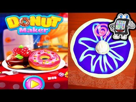 DONUT MAKER App Deutsch - KAAN, DER BACK-MEISTER! Eigene Donuts machen! Android & iOS