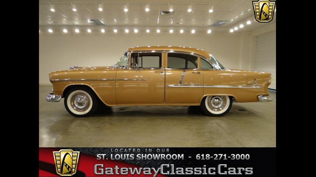1955 Chevrolet Bel Air 6145 Gateway Classic Cars St