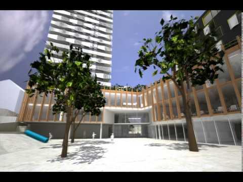 Logements sociaux, résidence sociale et équipements publics -- ZAC Clichy Batignolles Paris 17e