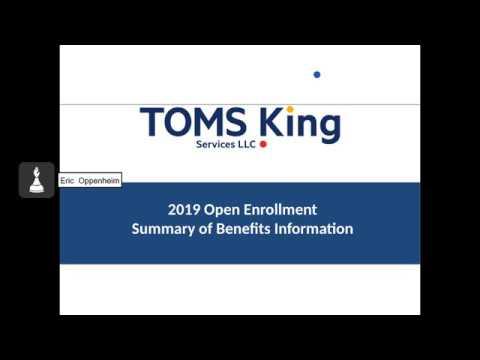 Toms King Benefits, Burger King Open Enrollment, Insurance