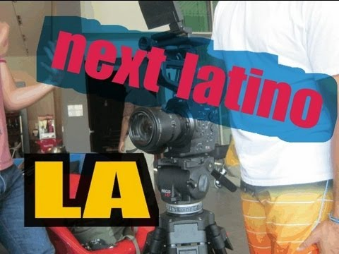Next Latino ♥ - Youtube Space Creator en Los Angeles! (experiencia)