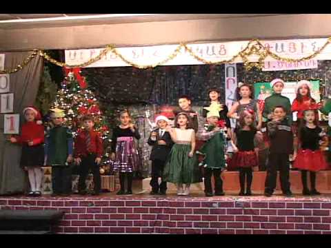 Christmas in Holy Martyrs Armenian day School