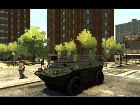 Gta Iv How To Get Tank