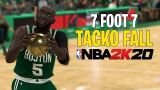 7 Foot 7 Tacko Fall Is A Cheat Code In NBA 2K20!