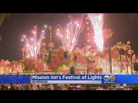 Mission Inn To Kick Off Festival Of Lights Tonight
