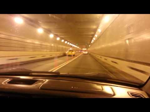 Racing in Holland Tunnel