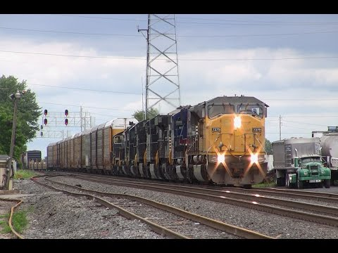 Trains on the Norfolk Southern Harrisburg Line Summer 2015