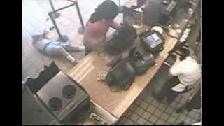 Unedited: Brutal Robbery on Video: Multi-View Video shows Delray Dunkin Donuts Robbery