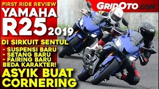 Yamaha New R25 2019 l First Ride Review di Sirkuit Sentul l GridOto