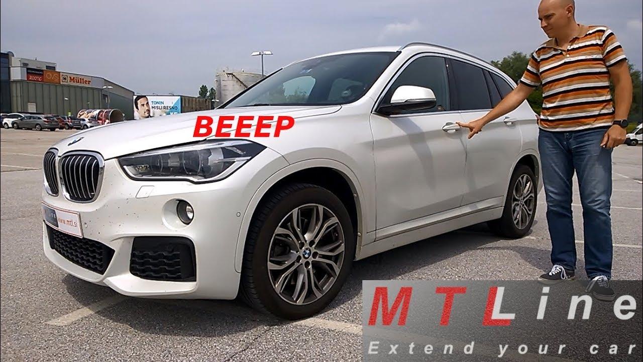 BMW X1 – F48, MY2017 - lock beep confirmation activation - vključitev  zvočnega opozorila ob zaklepu