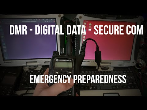 Emergency Preparedness - Mototrbo DMR Radio For TCP/IP Digital Secure Data Communication.