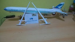 Cathay pacific A340 300 Papercraft