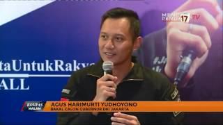 Agus Yudhoyono Bantah Maju Cagub DKI Karena Paksaan