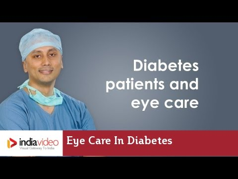 Eye Care in Diabetes patients