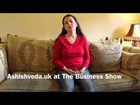 Ashishveda.uk at The Business Show 2015