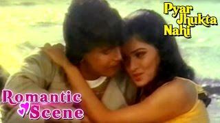 Mithun Romancing With Padmini Kolhapuri- Romantic Scene | Pyar Jhukta Nahi | Hindi Film