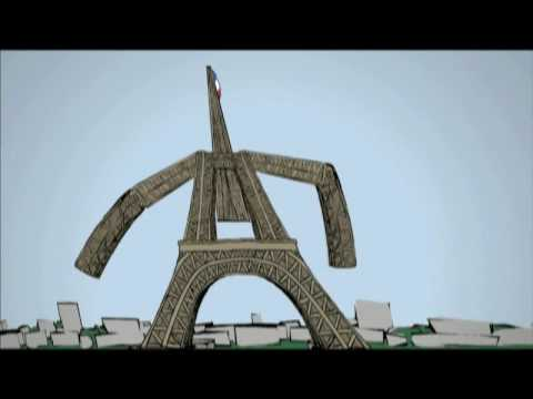 Eiffel Tower animation