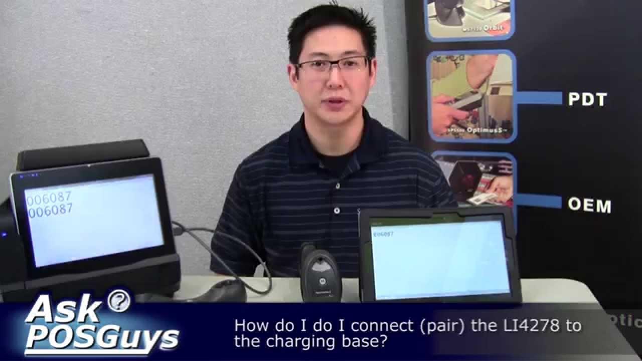 Ask POSGuys - How do I pair the LI4278?