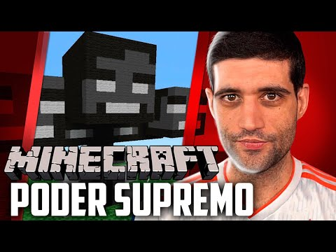 Minecraft 1.14 #35 - Invocamos o Wither Boss e Agora Temos o Poder Supremo