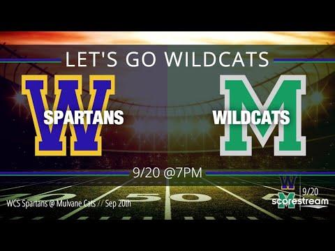 Mulvane High School Football VS. Collegiate 9-20-2019