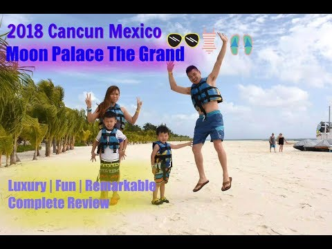 2018 Moon Palace The Grand Cancun COMPLETE REVIEW | Luxury | Fun | Remarkable 💯 worth your money!
