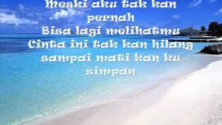Ost Na O Mei Terakhir-Mahkota band- (lirik)
