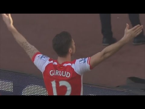 Olivier Giroud - My Time 2014/15 (Goals & Assists)
