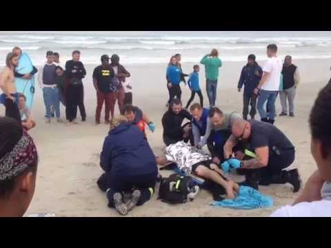 Shark Attack at Muizenberg, Cape Town