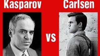 Garry Kasparov vs. Magnus Carlsen