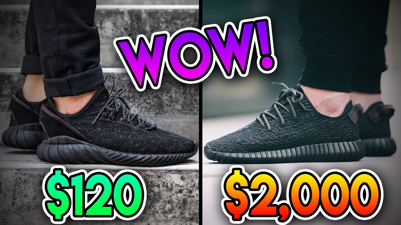 new concept 69f36 936d8 Top 3 BEST ALTERNATIVES TO EXPENSIVE SNEAKERS FOR BACK TO SCHOOL!!! YEEZY,  ULTRABOOST, NMD AND MORE!