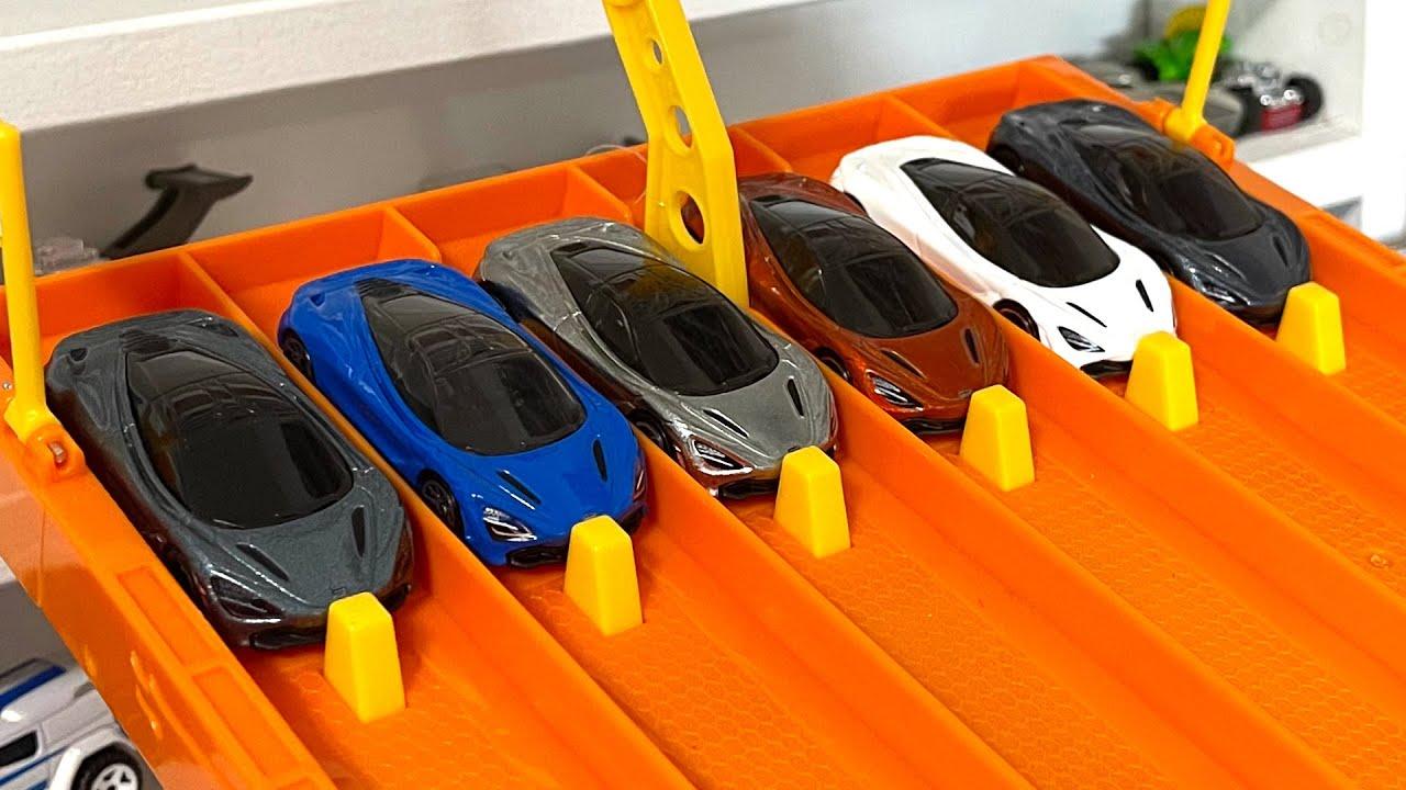 Hot Wheels Mclaren 720s Collection + Race #Shorts #YTShorts #HotWheels