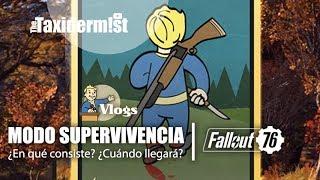 Así es el nuevo 'Modo Supervivencia' | Fallout 76