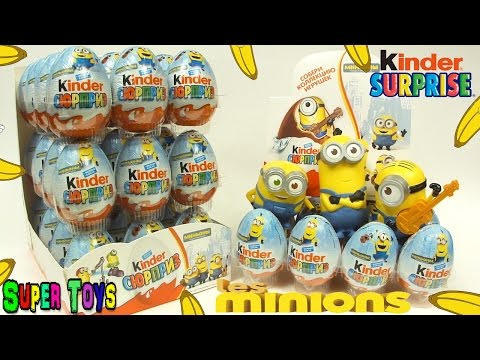 Видео: Kinder Surprise Minions NEWКиндер Сюрприз Миньоны Все игрушки киндеры с Миньонами