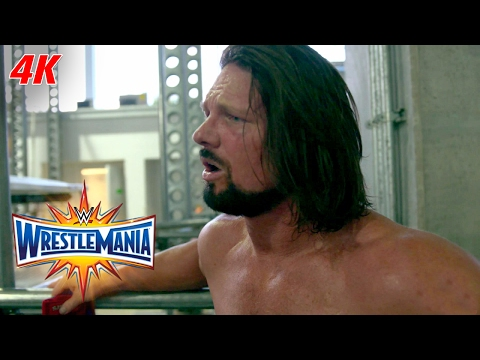 AJ Styles reveals what championship is in his sights: WrestleMania 4K Exclusive, April 2, 2017