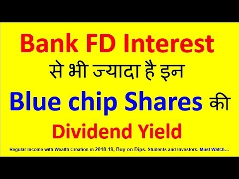 High dividend paying blue chip stocks having yield more ...