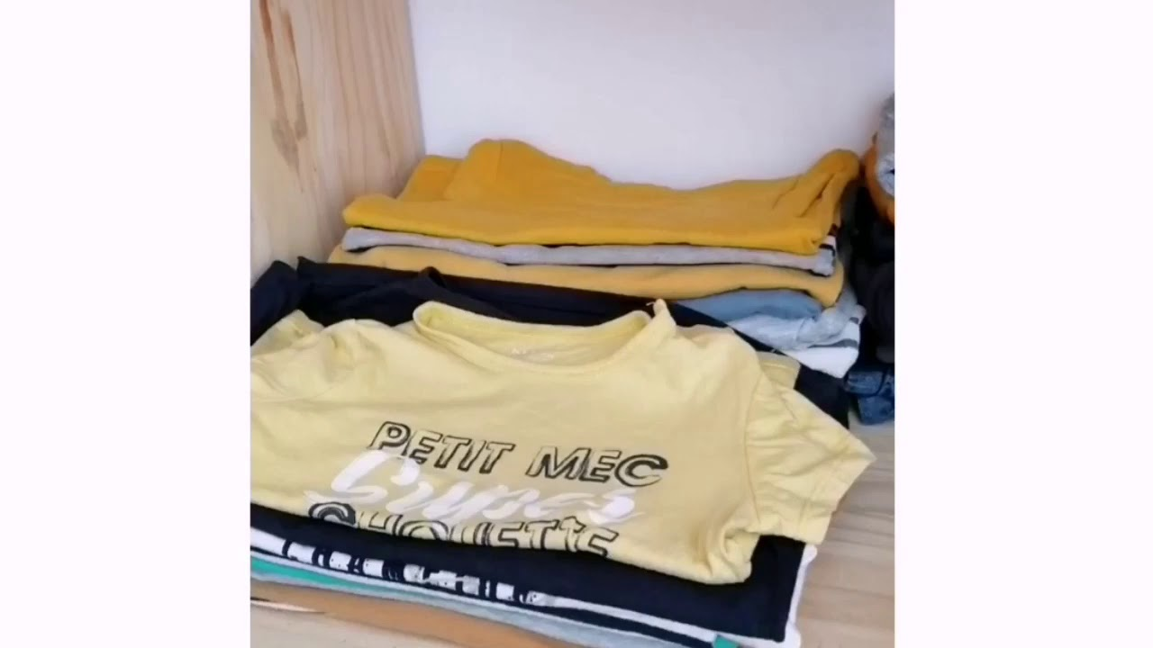 Cómo doblar la ropa de los niños en un dos por tres