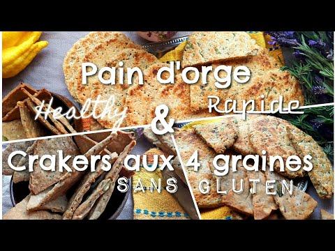 crackers-aux-4-graines-sans-gluten-&-pain-d'orge---vÉgan-sain-♡-facile-et-rapide- by-cuis'inné