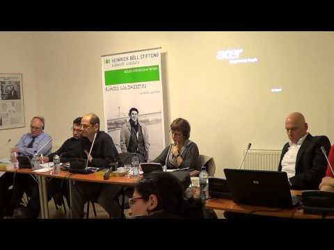 Stalin Puzzle. Presentation of the publication in Tbilisi. 12.04.13. Part 3
