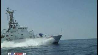 USCGC MATAGORDA UNDERWAY