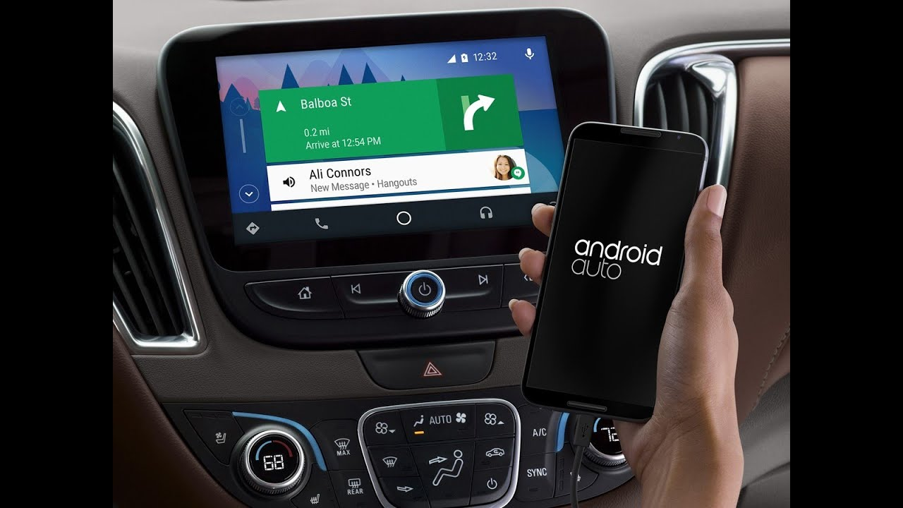How to use Android Auto on Chevrolet Mylink system
