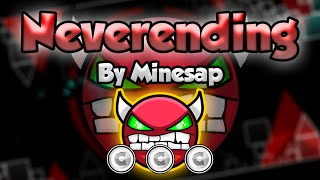Geometry Dash [2.0] (Easy Demon) - Neverending by Minesap - GuitarHeroStyles
