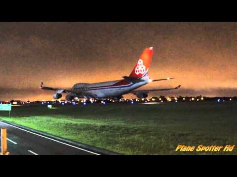 LX-WCV- Landing and Takeoff in Airport Internacional Afonso Pena.