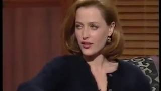 "Gillian Anderson "" i told David in his trailer that I was pregnant"""