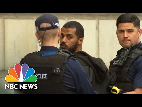 Police Arrest Armed Terror Suspect Near U.K. Parliament   NBC News